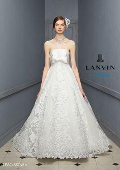 1705da2736164 LB-32455 - LANVIN en Bleu ウエディングドレス - 静岡|ドレス|Fino|