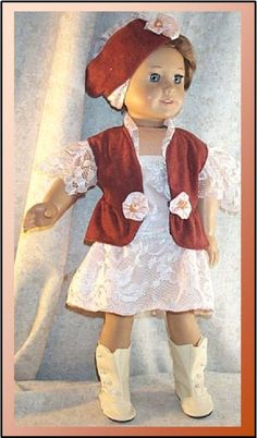 Doll Clothes fits American Girl 18 inch by DressYourDollinStyle, $24.99