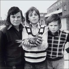Portrait from the Free Photographic Omnibus: Portsmouth. John Payne, aged with friends and his pigeon Chequer, 1974 by Daniel Meadows © Daniel Meadows. All Rights Reserved, DACS/Artimage 2020 Vivian Maier, Magnum Photos, Hepworth Wakefield, Street Photography, Nature Photography, Photography Tips, John Payne, Martin Parr, Documentary Photographers