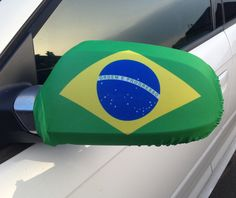 Our Brazil Car Mirror Flag is the perfect addition to your car so that you can fly your colours! So if your feeling patriotic, buy your flag and hold it high!