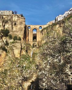 Flavia Balan Travel Story (@flaviamariejeane) • The Puente Nuevo: 120-metre-deep chasm that carries the Guadalevín River in Ronda, Andalucia, Spain. Andalucia Spain, Carry On, Deep, In This Moment, River, Adventure, Places, Photos, Beautiful