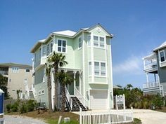 Gulf Princess | Blue Mtn Beach, FL $1111 total, sleeps 15, 5 rooms, has small private pool, block from beach