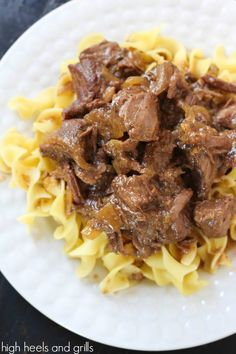 Root Beer Stewed Beef | High Heels and Grills