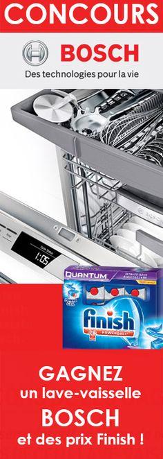 Gagnez un lave-vaisselle Bosch ! Fin le 14 aout.  http://rienquedugratuit.ca/concours/gagnez-un-lave-vaisselle-bosch/