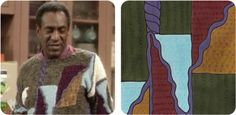 A Tumblr dedicated to the improbable sweaters worn by Cosby. Each pattern is transformed into a drawing. Crazy amusing!
