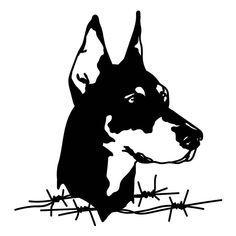 8 Best Doberman Tattoo Images Doberman Doberman Tattoo Black Ink Doberman Dog T… - Gas Mask Black Doberman, Doberman Dogs, Doberman Pinscher, Animal Line Drawings, Cute Drawings, Cartoon Drawings, Dark Tattoo, Tattoo On, Dobermann Tattoo