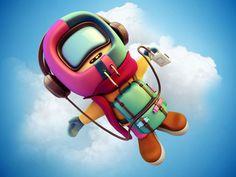 Astronaut by Zhivko Terziivanov
