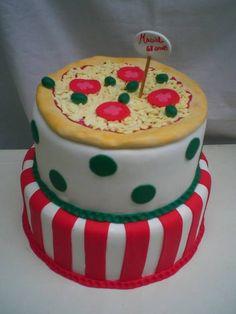 bolo festa pizza R$ 165,90