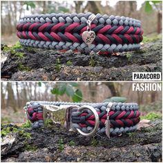 Halsband aus Parachute Cord. Mit Alu Klickverschluß und Edelstahlring. Verziert mit verschiedenen Anhängern. Kann auf Wunsch auch mit Adapter oder als Zugstopp angefertigt werden. ❤ #paracord #hundehalsband #collar #dogs #hunde #halsband #paracordhalsband