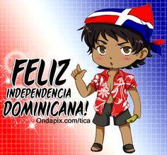 Feliz dia de la independencia Dominicana