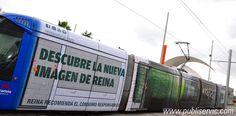 Rotulación Tranvía Cerveza Reina. Contacta con nosotros en el 922 646 824 o vía email a comercial@publiservic.com #rotulacion #vehiculo #tranvia #publiservic Tenerife, Fair Grounds, Fun, Travel, Canary Islands, Ale, Advertising, Viajes, Teneriffe