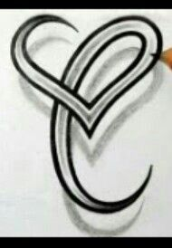 Cute letter c drawing