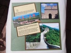 Great Wall of China 1 - Scrapbook.com