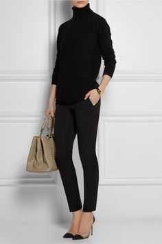 GUCCI Stretch wool and silk-blend skinny pants £354.38 http://www.net-a-porter.com/products/504780