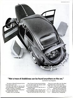 Not a hint of shabbiness. Volkswagen (1962)