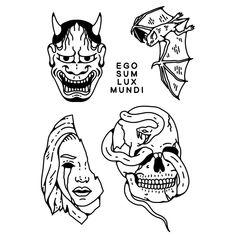 Retro Tattoos, Mini Tattoos, Body Tattoos, Black Tattoos, Small Tattoos, Tattoo Old School, Old School Tattoo Designs, Tattoo Sketches, Tattoo Drawings
