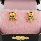Genuine Juicy Couture Skull Stud Earrings