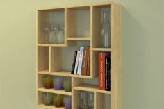 1000 images about storage rangement on pinterest storage pot racks and - Construire une etagere ...