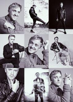 tom Felton looks so much like Ryan gosling sometimes its crazy.. Gorgeous!