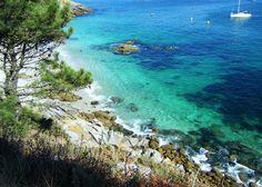 Praia de Nosa Señora, Islas Cíes, Galicia