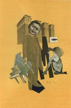 Hannah Höch,Untitled,1920, photomontage.