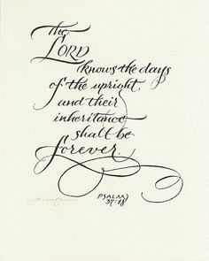 The Lord knows the days of the upright, Psa 37:18, bible, scripture verse