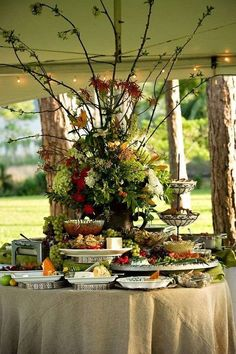 Image result for Christmas buffet table