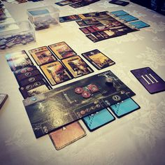 Great fun getting back on the board games. Although still not able to win #7Wonders #boardGames #Boardgamegeek #familytime
