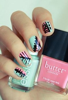 Click for amazing nail art ideas!