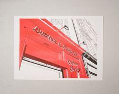 Butchers, Albert Street by Tommy Perman
