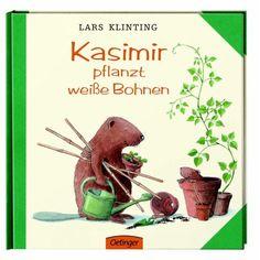 Kasimirs Topfpflanze ist verwelkt. Er braucht dringend eine neue. Warum soll er es nicht mal mit Bohnen versuchen? Am besten pflanzt er sie gleich selbst.