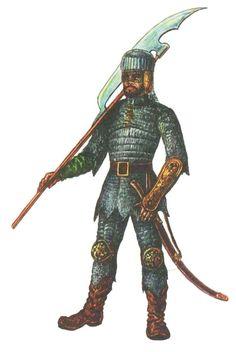 Tatar warrior, XVI c.