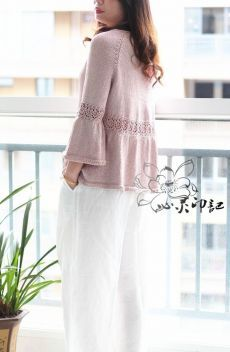 Knitting Top for Women // Елена Crochet Tunic, Lace Knitting, Knitting Patterns, Knitting Projects, Knitting Magazine, Mohair Sweater, Knit Mittens, Cardigan Pattern, Cardigans For Women