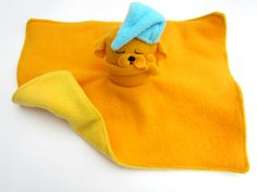 Adventure Time Jake Safety Blanket and Plush: Baby Blanket. $40.00, via Etsy.