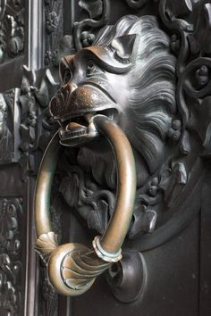 Door Thumper from Hohenzollern Castle , Germany .