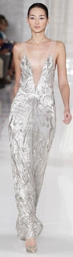 Ralph Lauren S/S 2012 | ♥ scintillating silver ♥)
