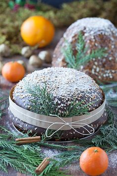 Vintage Christmas, Christmas Time, Yule Log, Cookie Pie, Zucchini Bread, Cakes And More, Carrot Cake, Food Art, Food And Drink