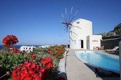 Villa Lilac Windmill, luxury holiday rental in Santorini, Greece