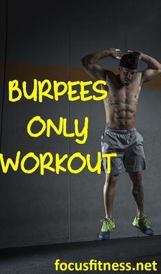 This article will show you how to lose fat and build muscle using burpees alone #burpees #workout #focusfitness