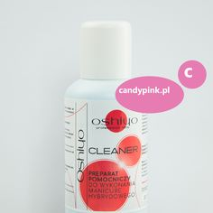 Cleaner -Preparat pomocniczy do wykonania manicure hybrydowego
