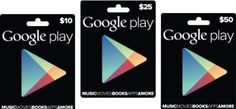 Google Play Gift Card Generator - http://cracktheworld.com/google-play-gift-card-generator/