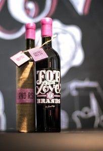 BRND WGN Wine Bottle 2012   BRND WGN