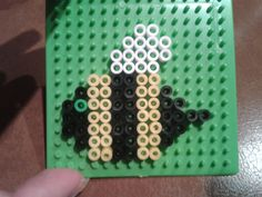 Bee perler beads by Eleka Peka