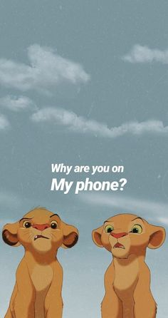 You're busy … – Ideas Wallpaper Disney Lion King Posts – # – Mondays # 49 To think too much is like rocking. You're busy … – Ideas Wallpaper Disney Lion King Posts – … Iphone Wallpaper Vsco, Cartoon Wallpaper Iphone, Disney Phone Wallpaper, Homescreen Wallpaper, Iphone Background Wallpaper, Locked Wallpaper, Cute Cartoon Wallpapers, Wall Wallpaper, Wallpaper Quotes
