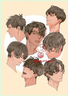 Drawing Tips Couple Digital Painting Tutorials, Digital Art Tutorial, Art Tutorials, Hair Reference, Drawing Reference Poses, Pretty Art, Cute Art, Pelo Anime, Anime Hair