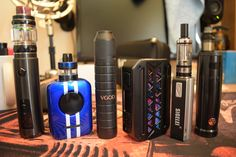 Just in... VGod Mech Kit II and UWell Nunchaku (both from GearBest).  Sigelei eTiny Starter Kit, iJoy Saber 100 Kit, UD Gaxi Kit and VZones eMask