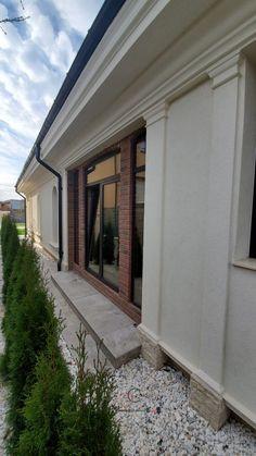 Proiect Casa Rezidentiala Bacau 2 – Profile Decorative Facade, Garage Doors, Windows, Interior, Outdoor Decor, Design, Home Decor, Houses, Prague
