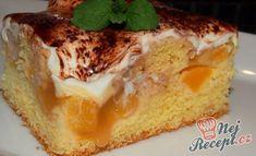 Nebíčko v tlamičce - křehké oříškové půlměsíčky Eastern European Recipes, French Toast, Cheesecake, Rolls, Dessert Recipes, Food And Drink, Pudding, Yummy Food, Sweets