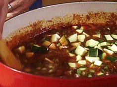 Chiarello Chicken and White Bean Chili With Veggies Recipe : Michael Chiarello : Food Network - FoodNetwork.com