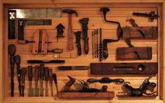 tools shadow boxes | ... and granddad had a collection of what is known today as vintage tools